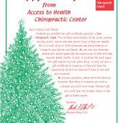 GC Christmas Tree Letter