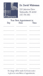 Multiple Appointment Cards