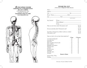 Spinal Screening