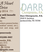 """Dr. With A Heart 4 Color Postcard-Style """"A"""" address side"""