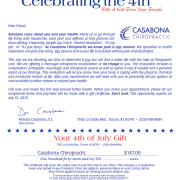 July 4 Flag Certificate