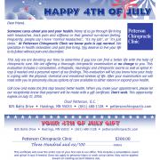 July 4 Rocket Certificate