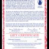 July Star Certificate