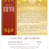 NY Emblem Certificate