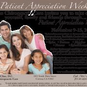 "Patient Appreciation 4 Color Postcard-Style ""A"""