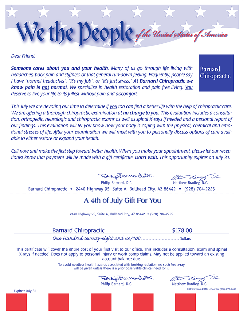 We The People Certificate
