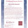 Snowflake Letter