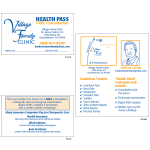 "Health Pass - Style ""A2"" (fedich)"